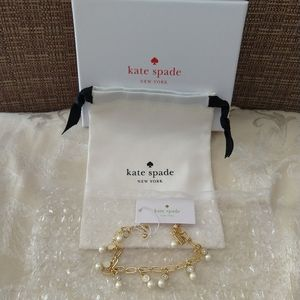 NWT Kate Spade Pearly Delight Bracelet